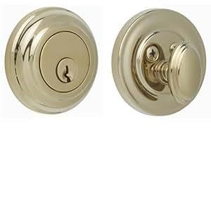 Rockwell Premium Solid Brass Low Profile Deadbolt Durable Hardware Door Locks Door Handles