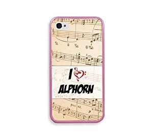 Alphorn Pink Silcon Pink Bumper iPhone 4 Case Fits iPhone 4 & iPhone 4S