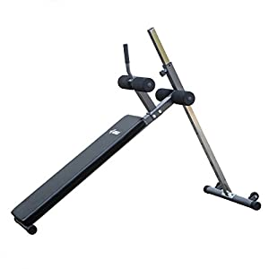 Akonza 12 Position Adjustable Decline Ab Bench Ergonomic Sit Up Fitness Exercise