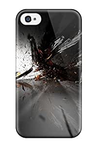 Hot 2499859K28820954 Hot Abstract Tpu Case Cover Compatible With Iphone 4/4s