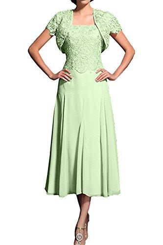 Spitze Charmant Partykleider Lilac 2018 Salbei Wadenlang Neu Brautmutterkleider Abendkleider Bolero mit Damen qw1fUw6Tp