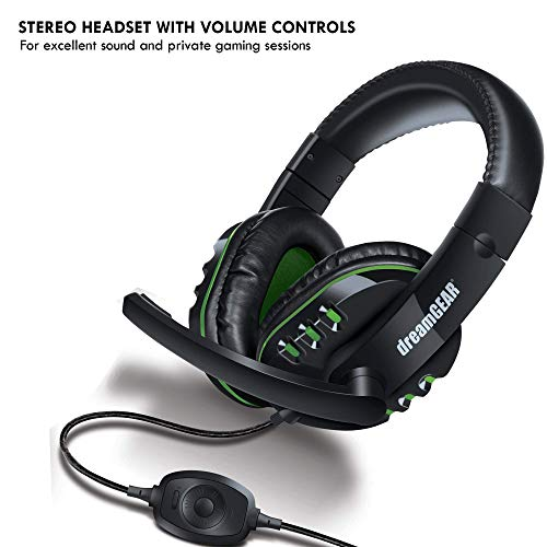 DreamGEAR DGXB1-6631 8 in 1 gamers kit black for XBOX ONE