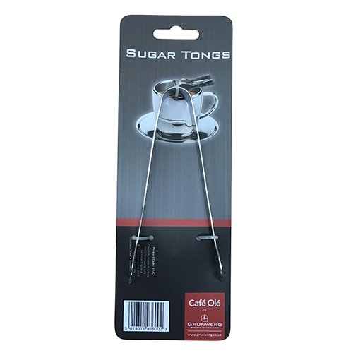 Grunwerg mirror finish stainless steel sugar cube tongs Grunwerg Windsor Carded ST/C