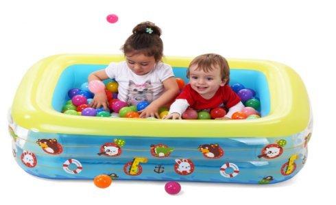 Baby Schwimmbad/Kinder home-Pool für Erwachsene/Dicke Baby aufblasbare Planschbecken/Kinder schwimmen Fässer-D