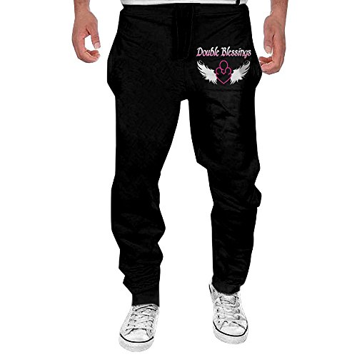 Double Blessings Twins Good Luck Men's Closed Jersey Pocket Pant