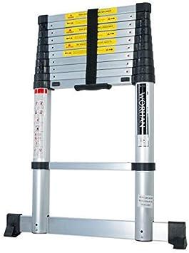 Air 1 K (a + Line) worhan® Aire absen kungg Tecnología Escalera telescópica aluminio escalera de aluminio telescópica (aluminio escalera aluminio escalera telescópica multifunción Escalera 1 K (a + Line): Amazon.es: Bricolaje y herramientas
