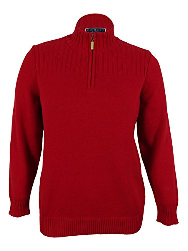 Lined Mock Zip Pullover - 4