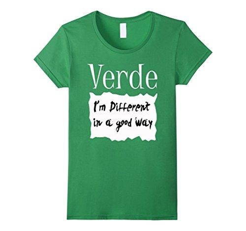 Womens Verde Hot Sauce Packet Halloween Costume Group T-shirt Medium (Good Halloween Group Costume Ideas)