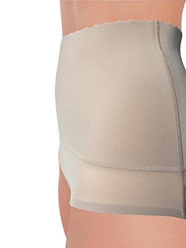 in Girogamba Bella Guaina ultrapiatto Modellante Lady Riducente G3010 Contenitiva Fascia Bordo Lingerie Pancia Elastica su con sull'Addome Nudo Microfibra e con Azione BwHqExzq