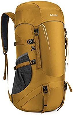 Gonex 45L Packable Hiking Backpack Lightweight Dackpack for Hiking Camping Travelling