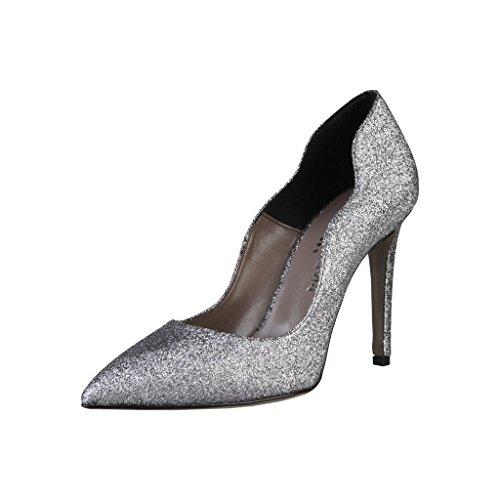 Women's Italia Shoes Made In Grey Ballroom A4B56wn6x