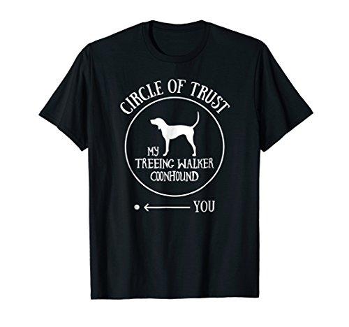 Treeing Walker Coonhound T-Shirt Dog Owner Gift Joke Gag ()