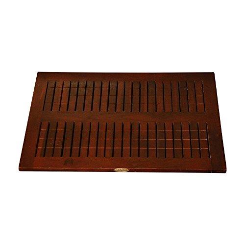 ALATEAK Wood Grate Shower Bath Spa Waterproof Floor Door Mat by ALATEAK (Image #1)
