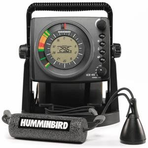 Humminbird ICE-45 Three Color Flasher with LCD Fish Finders And Other Electronics Humminbird