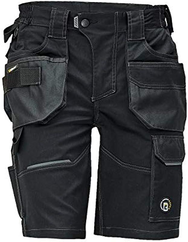 Stenso Dayboro ergonomiczne, elastyczne męskie spodenki robocze na lato, wytrzymałe: Odzież