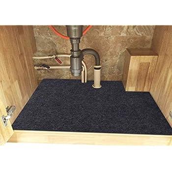 Amazon Com Under The Sink Mat Cabinet Mat Absorbent