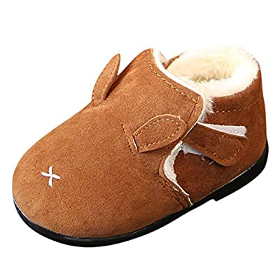 Tronet Baby Winter Shoes, Kids Baby Infant Girls Boys Winter Warm Shoes Martin Snow Boots Sneakers