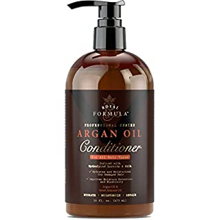 ROYAL FORMULA - Moroccan Argan Oil Hair Conditioner Sulfate Free Infused with KERATIN - Treatment for Dry Damaged, Color Treated, Frizzy & Curly Hair - Best for All Hair Types (16 Fl. Oz)