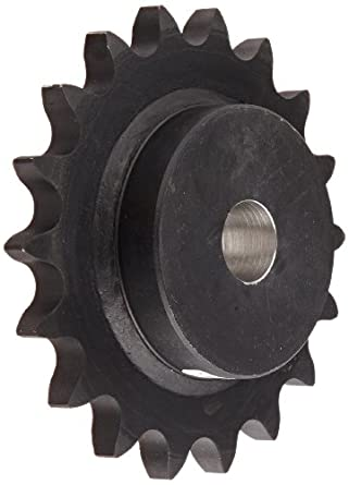 Martin Roller Chain Sprocket, Reboreable, Type B Hub, Single Strand, 100 Chain Size