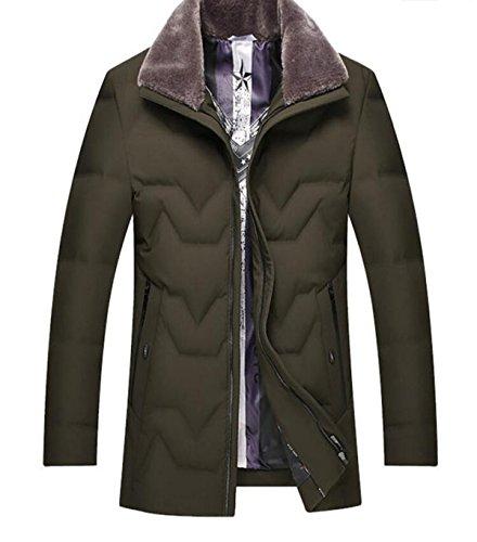 Esterno D'anatra Uomini Sci Lungo Chensh Inverno Di Abbigliamento Piumino Marrone Bianca q7w4ppa