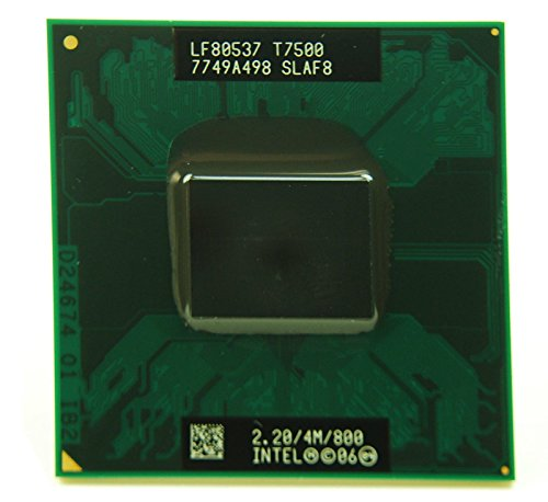 Intel Core 2 Duo T7500 2.2GHz 4MB Mobile CPU Processor Socket P 478-pin SLAF8 ()