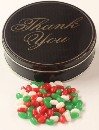 Scott's Cakes Christmas Mix Jelly Belly Jelly Beans in a Min