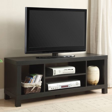 Small Spaces TV Stand for TVs (black)