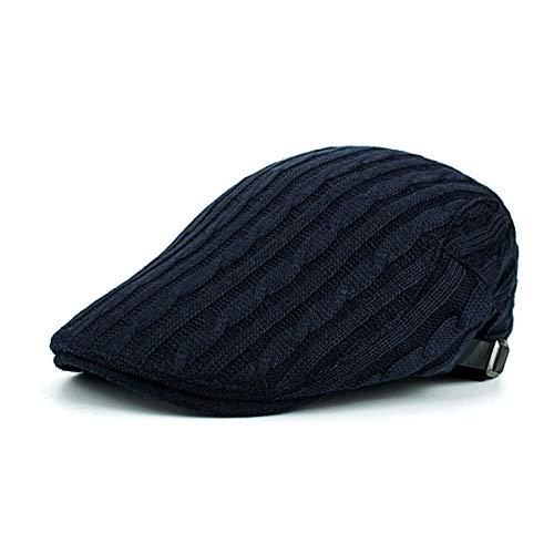 Hombre GLLH Punto Trenzado Sombrero Sombreros Sombrero Casual qin B Pato de Invierno e de D Bailey de Sombrero hat rXnrqf0O