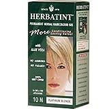 Herbatint 10N Platinum Blonde Permanent Herbal Hair Color Gel 4.5 fl. oz. 218234
