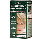 Herbatint 10N Platinum Blonde Permanent Herbal Hair Color Gel 4.5 fl. oz. 218234