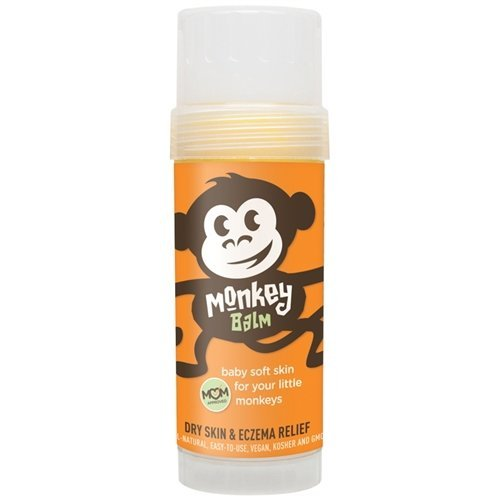 (Monkey Balm All Natural Skin Care for Kids, Babies, and Adults | Helps Heal Eczema, Psoriasis, Dry and Cracked Skin, Bug Bites, Rashes, and Sunburns | 2oz)