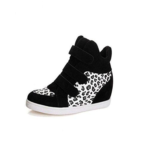 Blanc Familizo Chaussures Femme des Toile Augmentation Chaussures de Femmes Zwq4zOBrwx