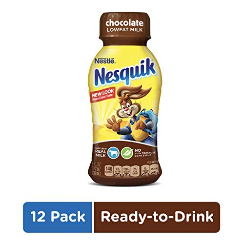 NESQUIK Ready to Drink Low Fat Chocolate Milk