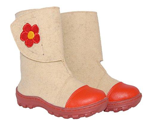 Handmade Valenki Felt Sheepskin Boot Kids' 13 Size