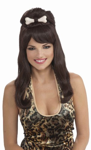 (Forum Novelties Prehistoric Princess Wig, Black, One)