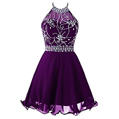 Short Purple Prom Dress Amazon