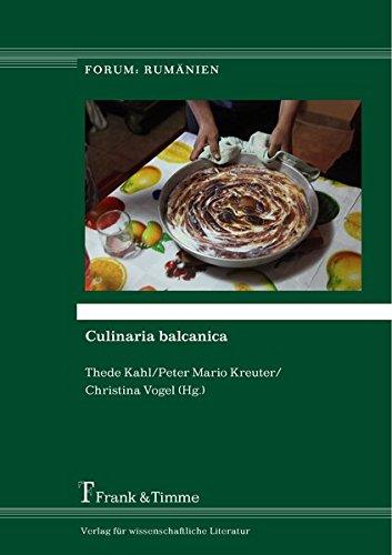 Culinaria balcanica (Forum: Rumänien)