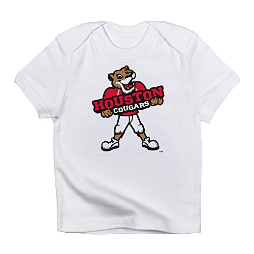 CafePress Houston Cougar Kids Mascot - Cute Infant T-Shirt, 100% Cotton Baby Shirt -