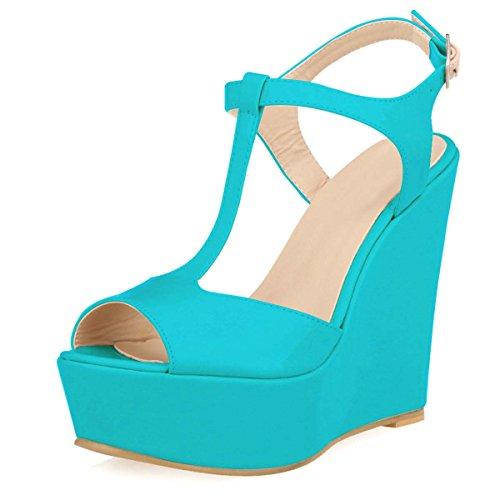Alustan Naisten Hooh soljen Sininen T Sandaalit Kiilan R061q6v