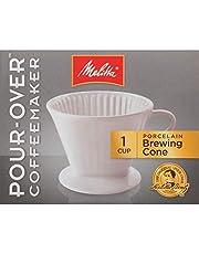 Melitta Mel PORC Pour-Over cone coffemaker, Porcelain, 1 Cup