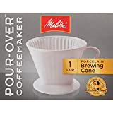 Melitta #2 Porcelain Single-Cup Pour Over Coffee