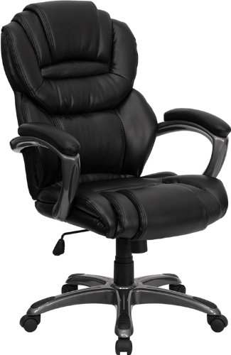 harrison leather home office chair swivel office chairs akron