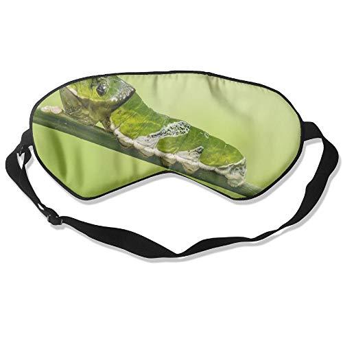 (Sleep Mask Pack Unidentified Papilio Larva Stratford Butterfly Farm Men and Women Eye Mask No Pressure Eye Masks for Sleep & Travel )