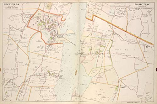 Reprinted 18 x 24 1891 Map of New York A New North America with the West India Islands divided according to the preliminary articles of peace, signed at Versailles, 20, Jan. 1783, wherein are 0 0 20a by Vintography