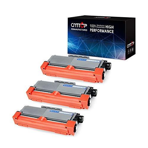 CMTOP 3 Black TN660 Toner Cartridge Compatible for Brother TN660 TN-660 TN630 TN-630 for Brother HL-L2340DW MFC-L2700DW HL-L2300D MFC-L2750DW MFC-L2740DW HL-L2320D HL-L2360DW HL-2340DW