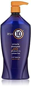 It's a 10 Haircare Miracle Shampoo Plus Keratin Sulfate Free, 33.80 fl. oz.