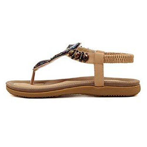SUNAVY - Zapatos de tacón  Mujer Aprikosen-2