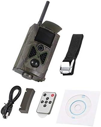 Cámara de Caza inalámbrica 500 m HD 1080P gsm MMS GPRS SMS ...