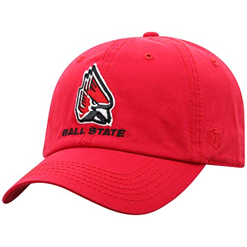 Ball State Cardinals Adult Adjustable Hat