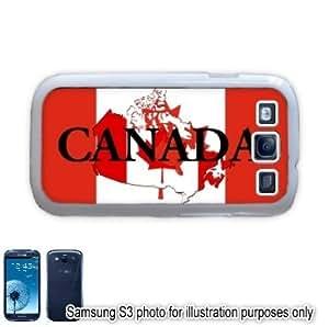 Canada Shape Name Flag Samsung Galaxy S3 i9300 Case Cover Skin White by ruishername